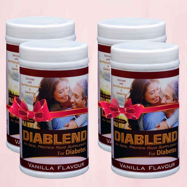 Diablend Nutrition Powder for Diabetes 200g 5