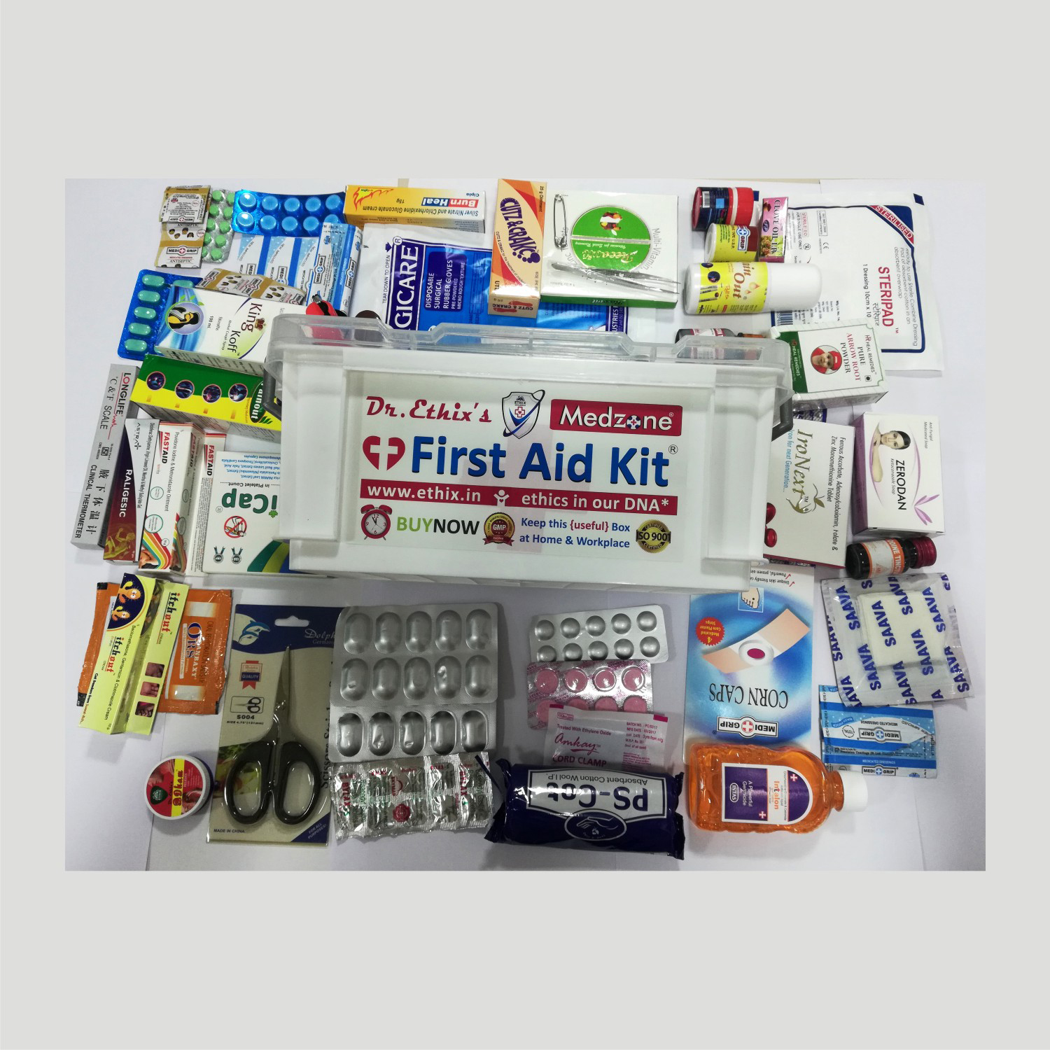 Dr Ethix First Aid Kit Medical Box