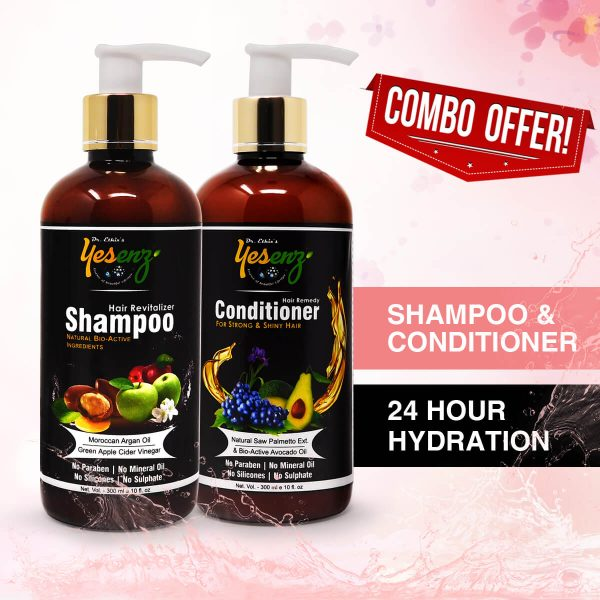 Hair Conditioner Shampoo Combo offer