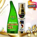 aloe vera gel for face serum